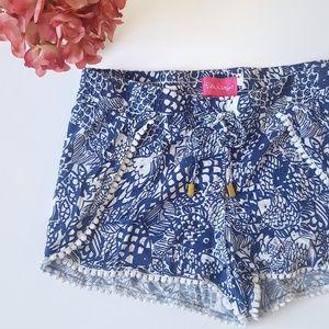 Lilly Pulitzer Pompom Shorts